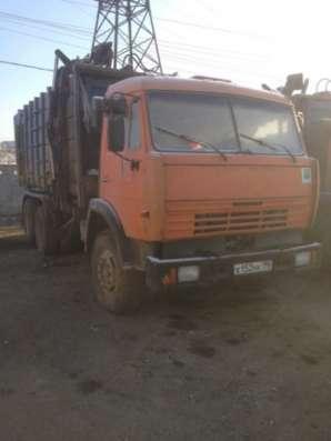 мусоровоз КАМАЗ мк 20-01