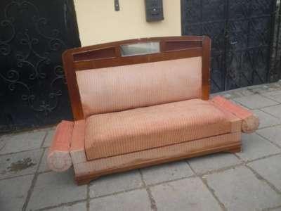 Старинный диван с валиками. в Москве Фото 3