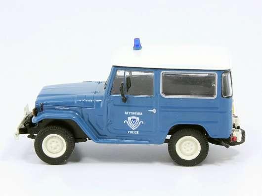 полицейские машины мира №18 TOYOTA LAND CRUISER FJ40 в Липецке Фото 4