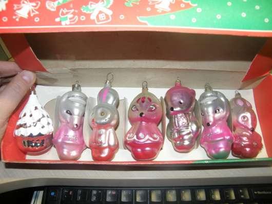 Набор ёлочных игрушек в коробке ГДР в Москве Фото 4