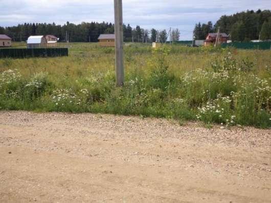 Продается земельный участок 11 соток в ДНП «Парус»Можайский район, 100 км от МКАД по Минскому шоссе.