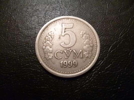 10 сум 1999г Узбекистан
