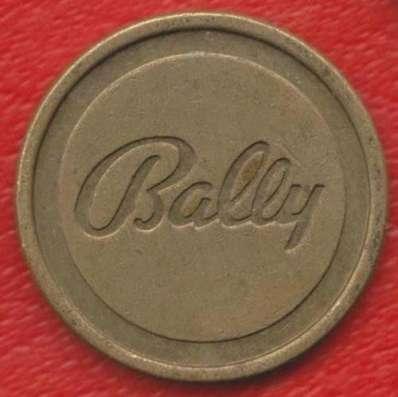 Жетон игровой Bally Стокгольм Швеция