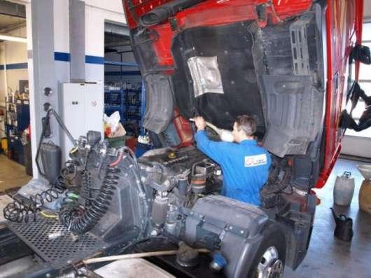 Пескоструйная обработка грузовых автомобилей