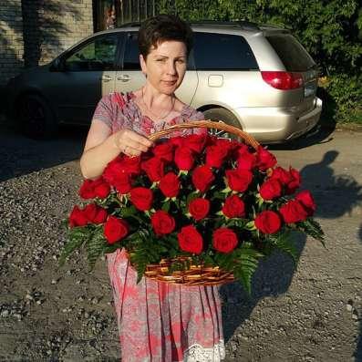 В Липецке 101 роза Фото 4