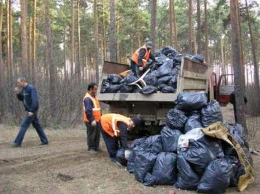 Вывоз снега, мусора, утилизация снега и мусора, свалка за наш счет
