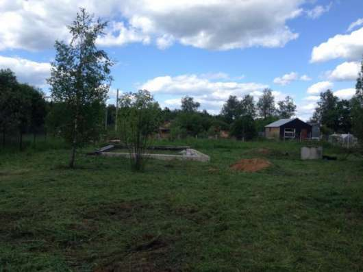 Продается земельный участок 11 соток в деревне Клемятино, 114 км от МКАД по Минскому шоссе