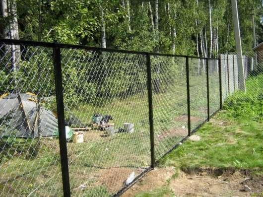 Секции заборные в Ряжске