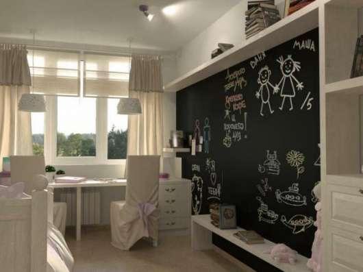 Меловые и маркерные обои, рисуй где хочешь! в Москве Фото 1