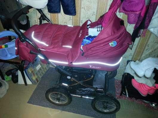 Продается коляска enzo jekky kids в Москве Фото 5