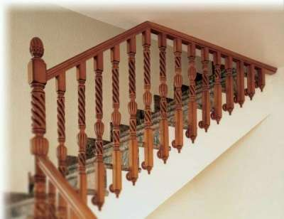 Лестницы деревянные из массива Новая Лестница в г. Долгопрудный Фото 5