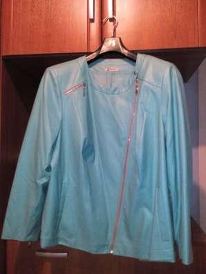 Куртка из эко-кожи размер 56-60