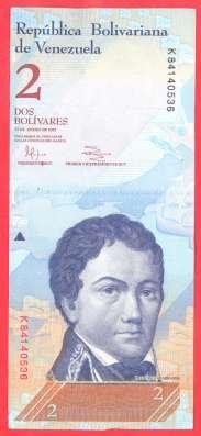 Венесуэла 2 боливара 2012 г. январь