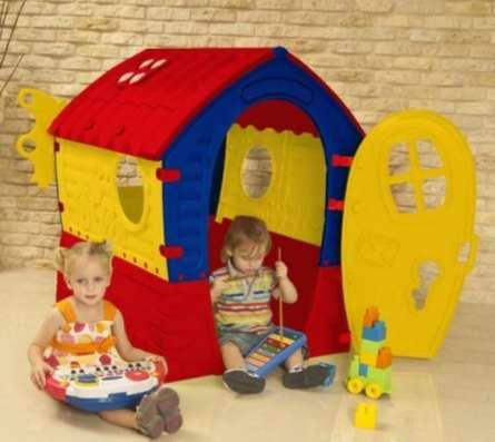Домик Новый детский игровой дом пластмассовый в Москве Фото 1
