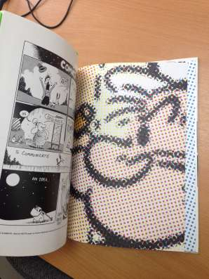 Красочная книга THE COMICS SINCE 1945