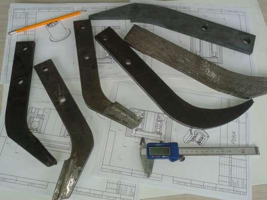 Ножи гребнеобразователя на любую спецтехнику