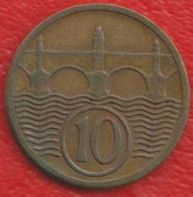 Чехословакия 10 геллеров 1928 г.