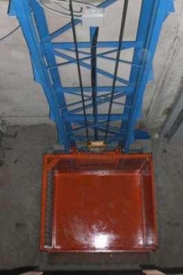 Мачтовый грузовой подъемник в Уфе Фото 1