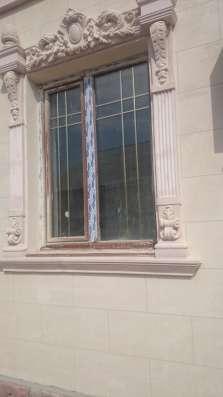 Декоративный фасад из травертина