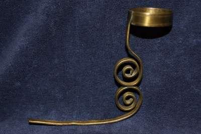 Старинный держатель для лампады в киоте