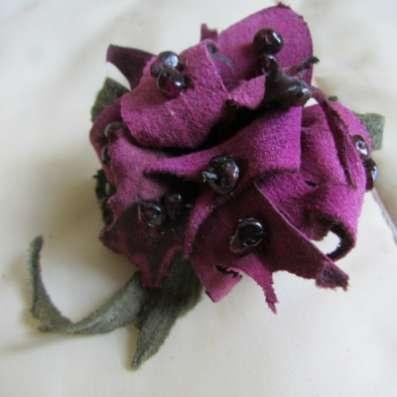 цветы из кожи в Обнинске Фото 1