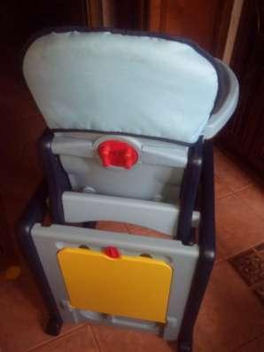 """стульчик для кормления MIKBABY """"Марс"""" темно-синий"""