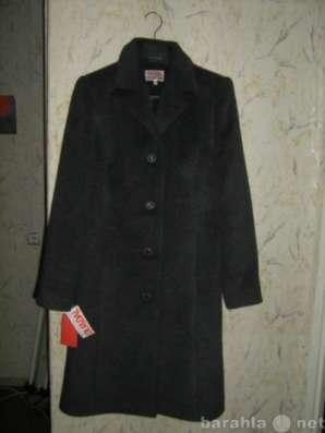 пальто кожа классика