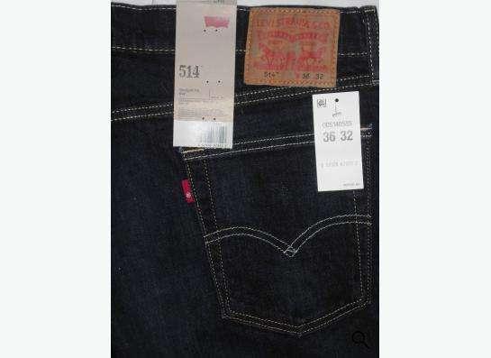 Прочные джинсы Levis 514 Slim 36х32