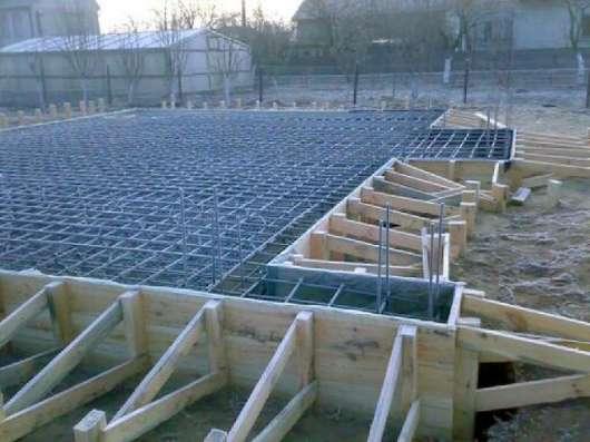 Строительство домов, фундаменты