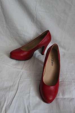 Туфли новые красного цвета цена 500 р