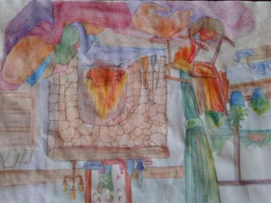 Картины маслом, акварелью, углем, сангиной, соусом и др