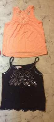 летние топы и футболки на 6-8 л (122-128)