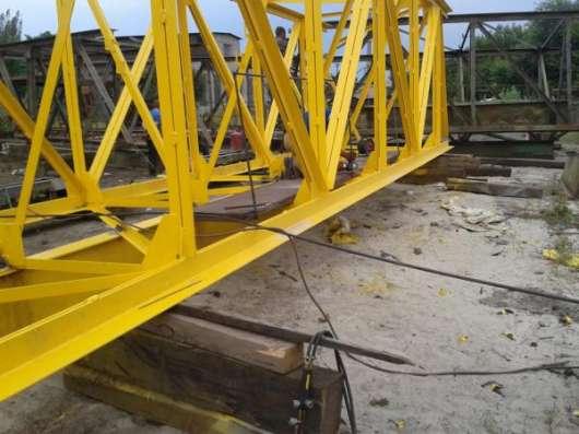 Восстановление антикоррозийного покрытия металлоконструкций крана.