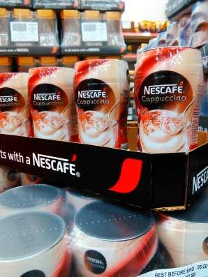 Кофе Nescafe-Cappuccino 225 g финляндия