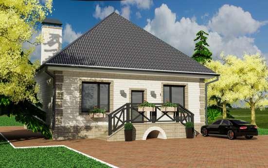 Дом на участке 5-10 соток По ИНДИВИДУАЛЬНОМУ Проекту