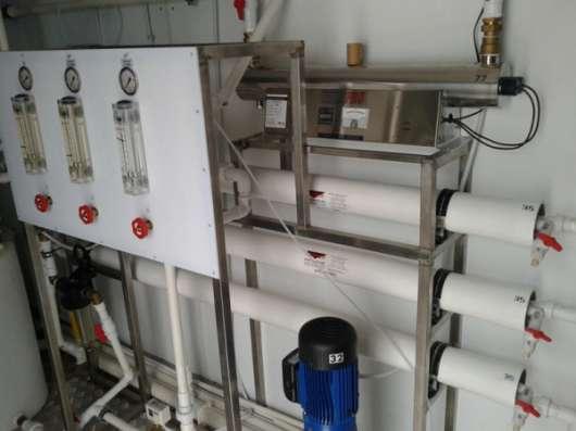 Водоочистная станция Сокол производительностью 3 - 125 м3/час
