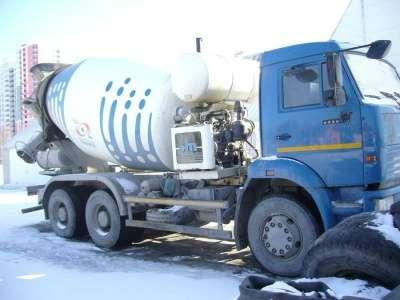 автобетоносмеситель КАМАЗ 6520-61