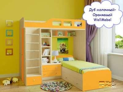 Детская двухъярусная кровать РВ мебель Астра 4