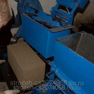 Станок для производства арболитовых блоков в Курске Фото 2