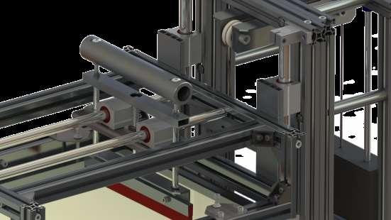Механическая печатная секция. Модель - МПШ - 05