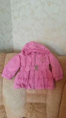 Куртка-плащ на девочку 2-3 лет