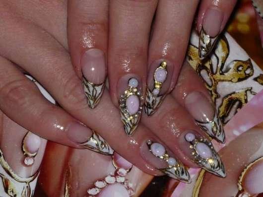 Наращивание ногтей, гель- лак коррекция в Брянске Фото 4