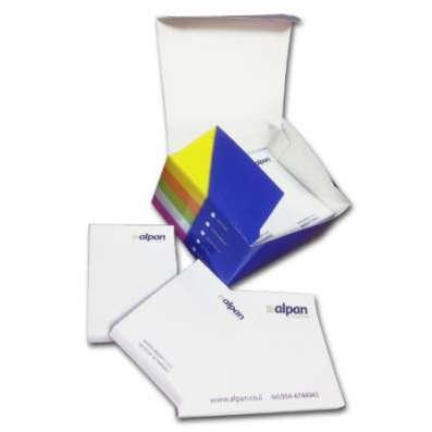 Изготовим под заказ комплекты блоков-стикеров типа Post-it с Вашим логотипом
