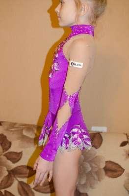 Купальник для художественной гимнастики на рост 125-135 см