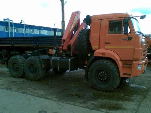 Камаз 53504 (44108) седельный тягач + КМУ PALFINGER