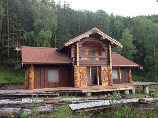 Дома рубленные и оцилиндрованные, пиломатериал в Абакане Фото 5