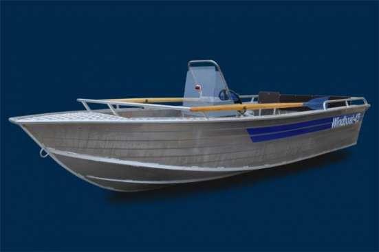 Лодка Windboat 45