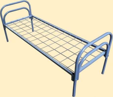 Кровати металлические для общежитий, больниц, военных казарм