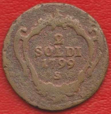 Гориция 2 сольдо 1799 г. S Австрийская империя Габсбургов