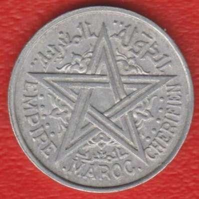 Марокко Французское 2 франка 1951 г.